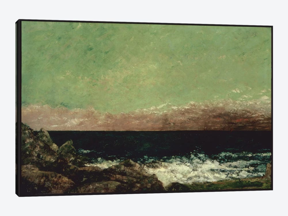 The Mediterranean by Gustave Courbet 1-piece Art Print