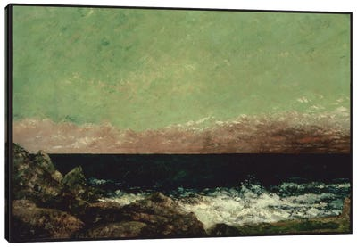 The Mediterranean Canvas Art Print