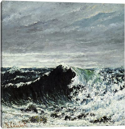 The Wave #2 Canvas Art Print