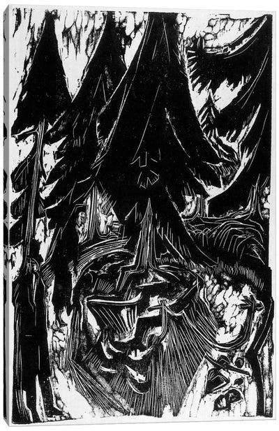 Walk Sanatorium (1916) Canvas Art Print