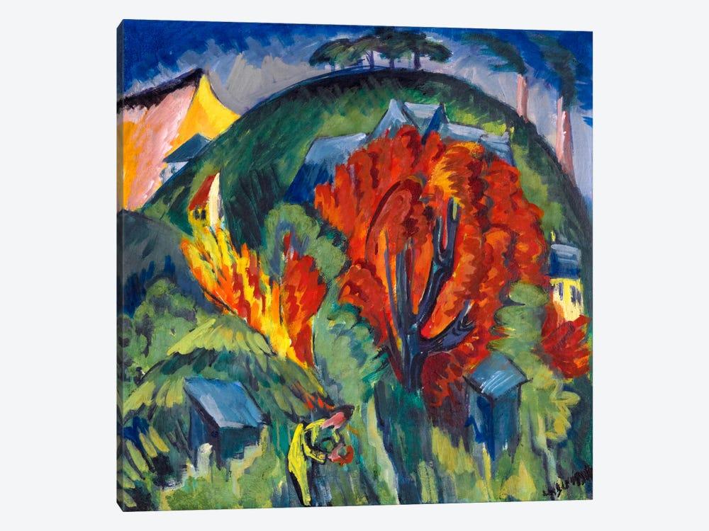 Galgenberg in Jena by Ernst Ludwig Kirchner 1-piece Art Print