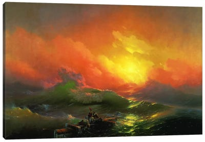 The Ninth Wave Canvas Art Print