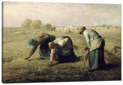 The Gleaners Canvas Art Print