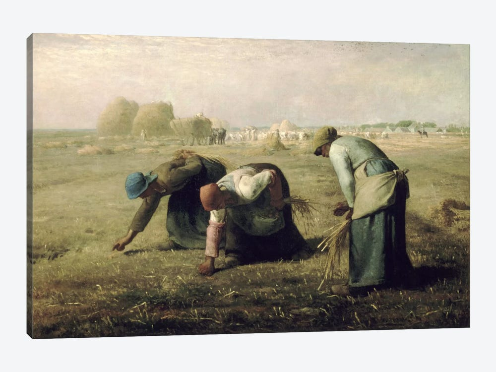 The Gleaners by Jean-Francois Millet 1-piece Canvas Wall Art