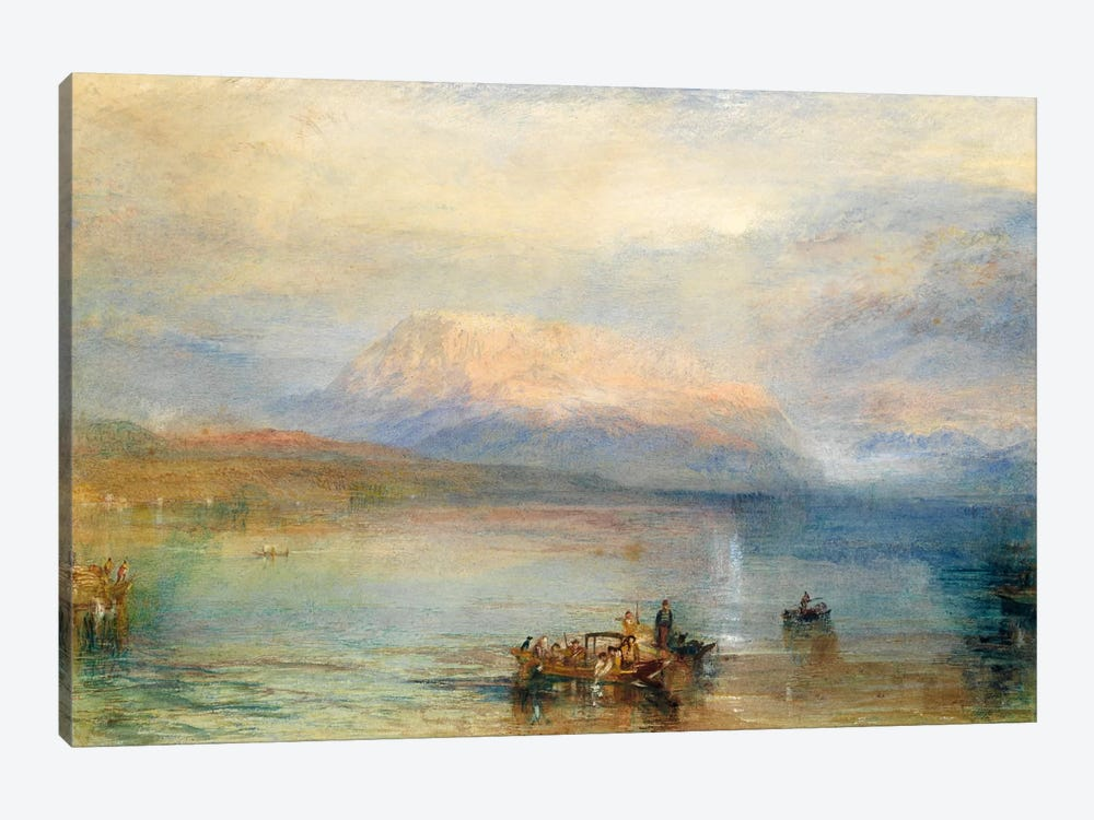 The Red Rigi by J.M.W. Turner 1-piece Canvas Wall Art
