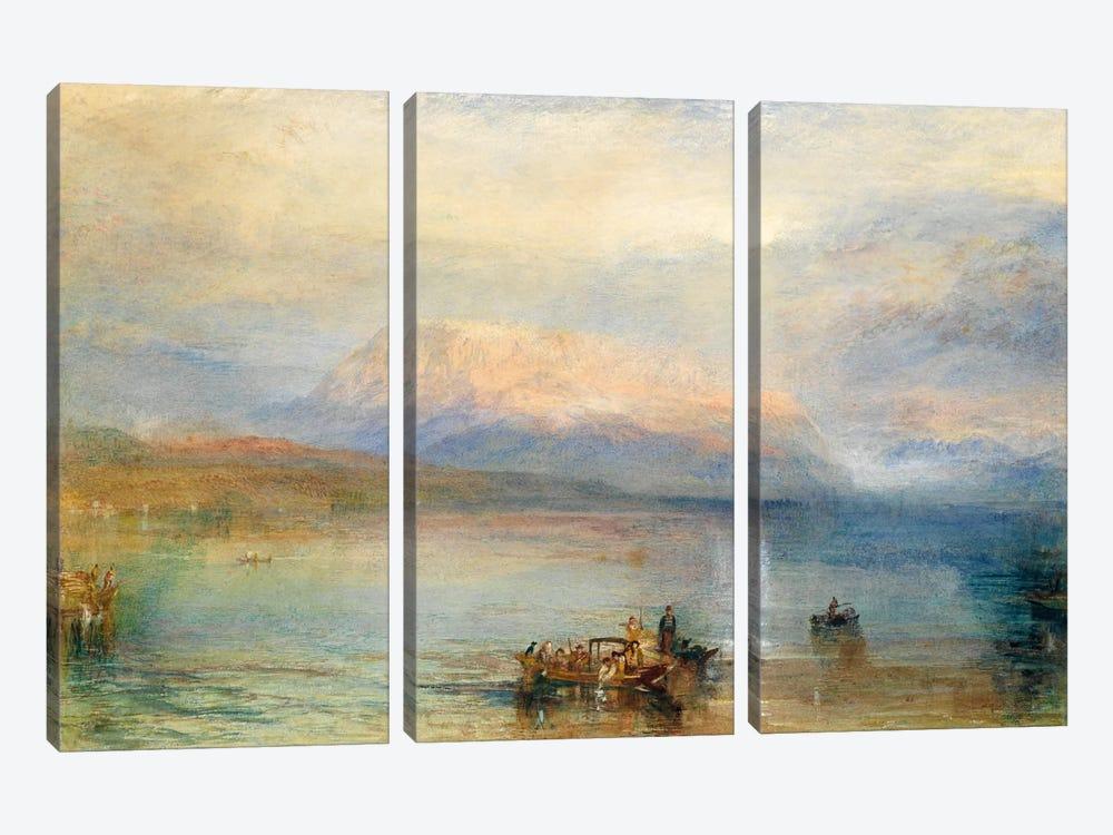 The Red Rigi by J.M.W. Turner 3-piece Canvas Wall Art