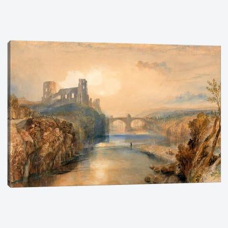 Barnard Castle Canvas Print #15113} by J.M.W. Turner Canvas Wall Art