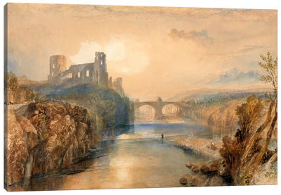 Barnard Castle Canvas Art Print
