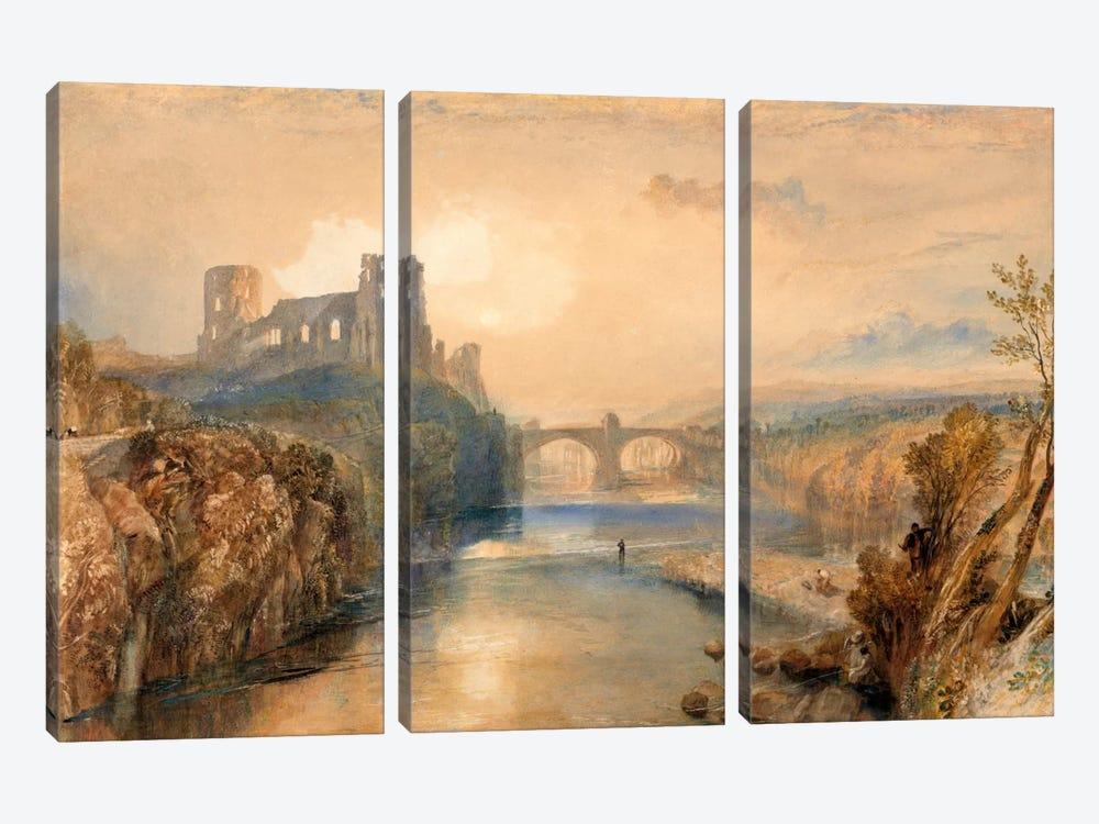 Barnard Castle by J.M.W. Turner 3-piece Art Print