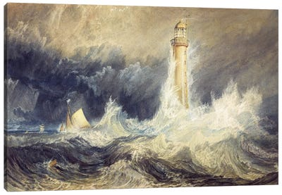 The Bell Rock Lighthouse Canvas Art Print
