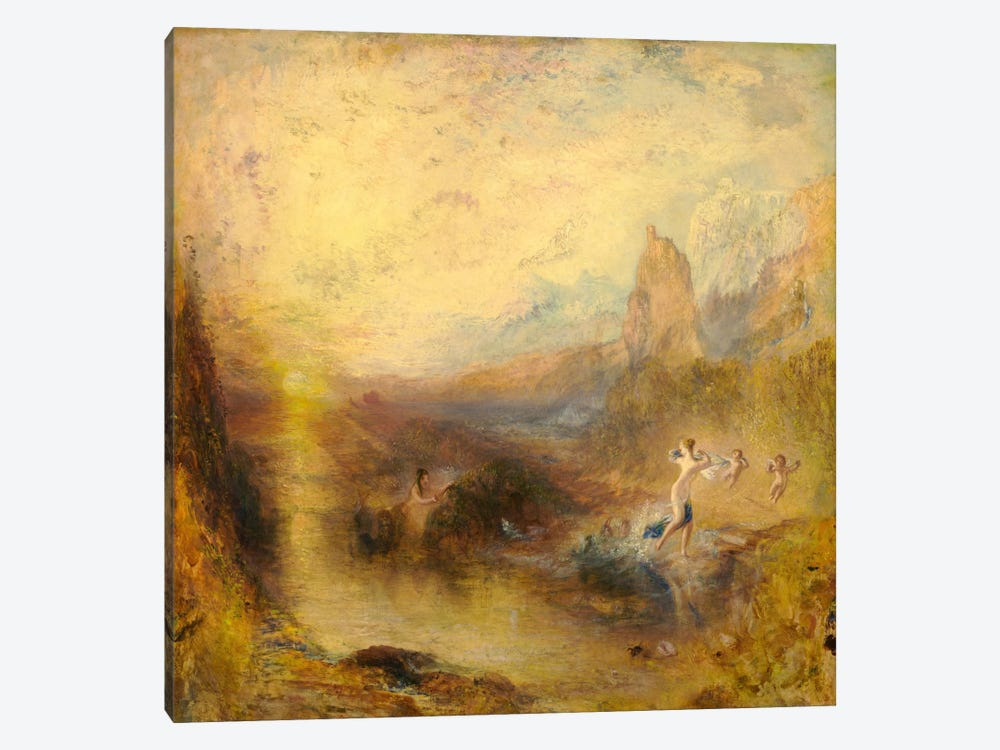 Glaucus and Scylla by J.M.W Turner 1-piece Canvas Artwork