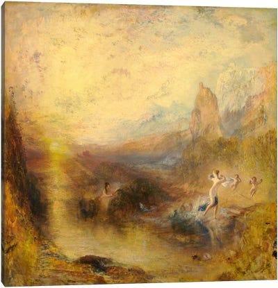 Glaucus and Scylla Canvas Art Print