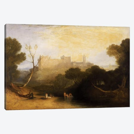 Lillithgow Palace Canvas Print #15120} by J.M.W. Turner Art Print