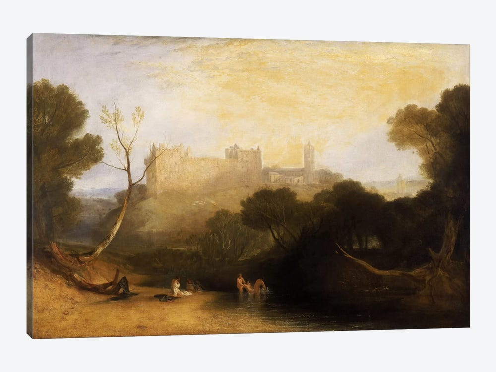 Lillithgow Palace by J.M.W Turner 1-piece Art Print