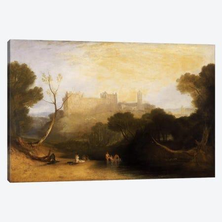 Lillithgow Palace Canvas Print #15120} by J.M.W. Turner Art Print