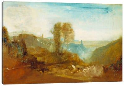 Tivoli, The Cascatelle Canvas Print #15124