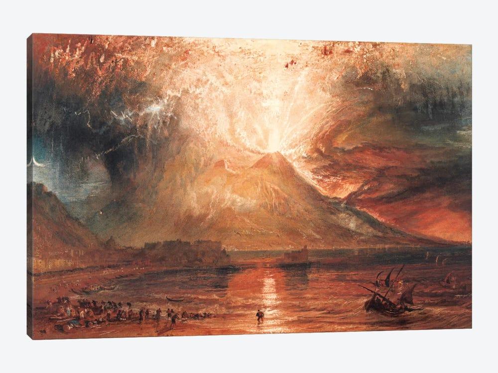 Vesuvius in Eruption by J.M.W. Turner 1-piece Canvas Artwork