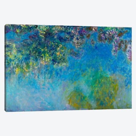 Wisteria Canvas Print #15148} by Claude Monet Canvas Print