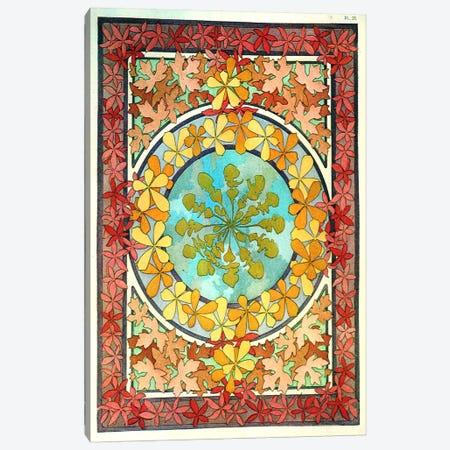 "Plate 28 from ""Documents Decoratifs""(1902) Canvas Print #15154} by Alphonse Mucha Canvas Art Print"