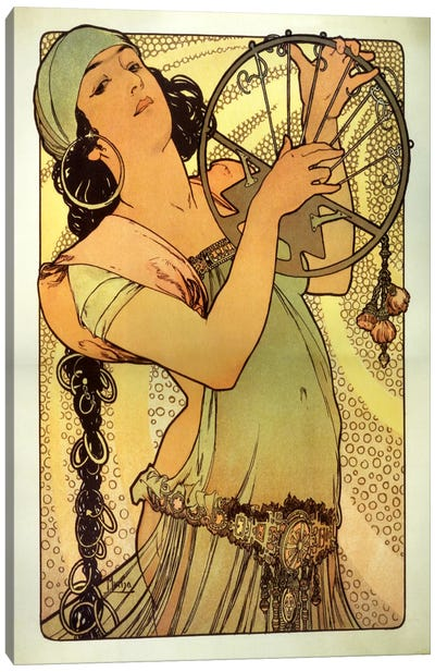 Salome by Alphonse Mucha Art Print