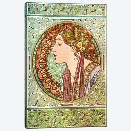 Laurel (1901) Canvas Print #15161} by Alphonse Mucha Art Print