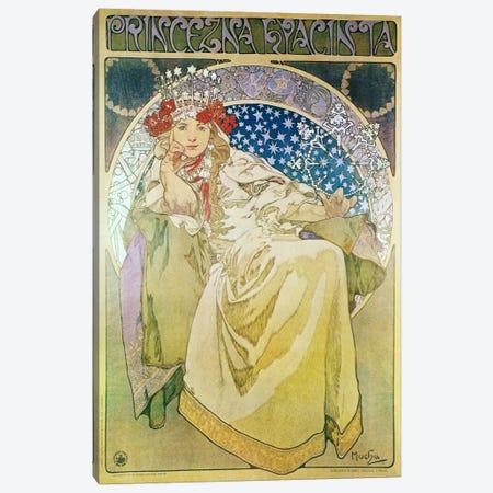 Princess Hyacinth (1911) Canvas Print #15176} by Alphonse Mucha Art Print