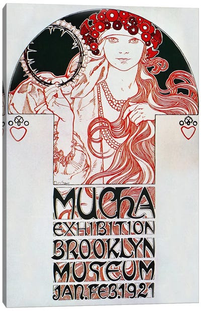 Brooklyn Exhibition (1921) Canvas Art Print