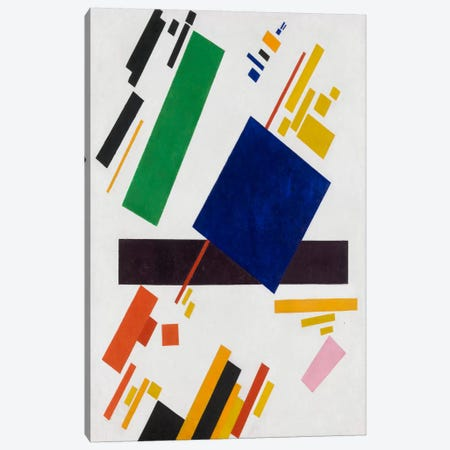 Suprematist Composition, 1916 Canvas Print #1518} by Kazimir Severinovich Malevich Canvas Artwork