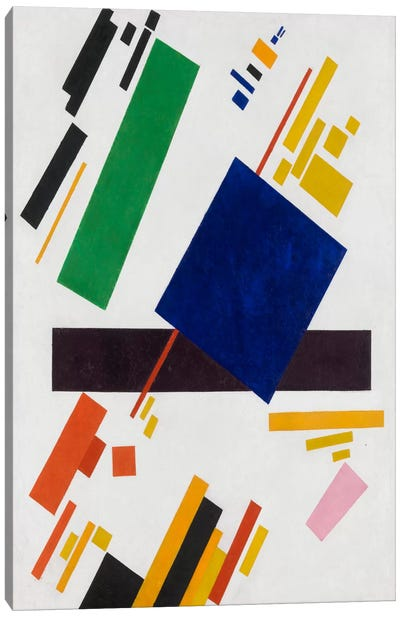 Suprematist Composition, 1916 by Kazimir Malevich Canvas Artwork
