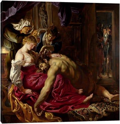 Samson & Delilah Canvas Art Print
