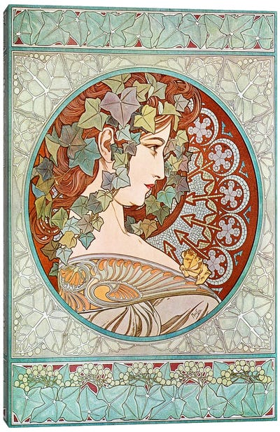 Ivy, 1901 #2 Canvas Art Print