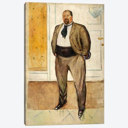 Consul Christen Sandberg, 1901 Canvas Print #15218} by Edvard Munch Canvas Art Print
