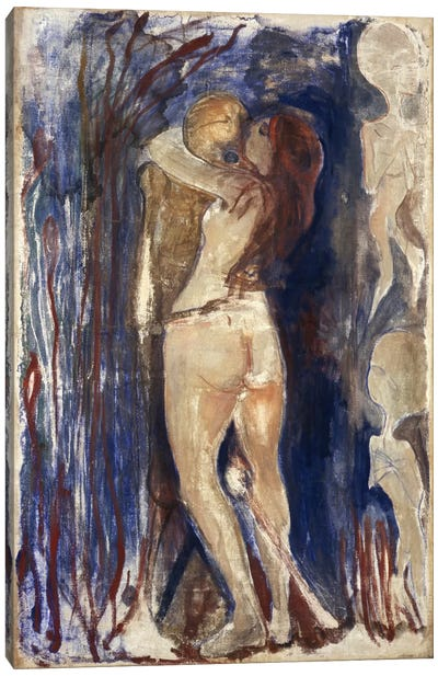 Death and Life, 1894 by Edvard Munch Canvas Print