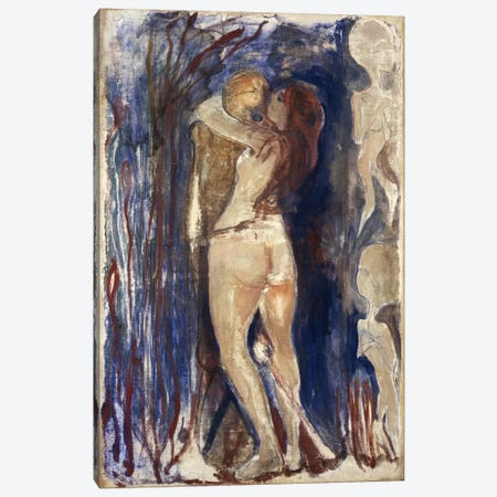 Death and Life, 1894 Canvas Print #15219} by Edvard Munch Canvas Print