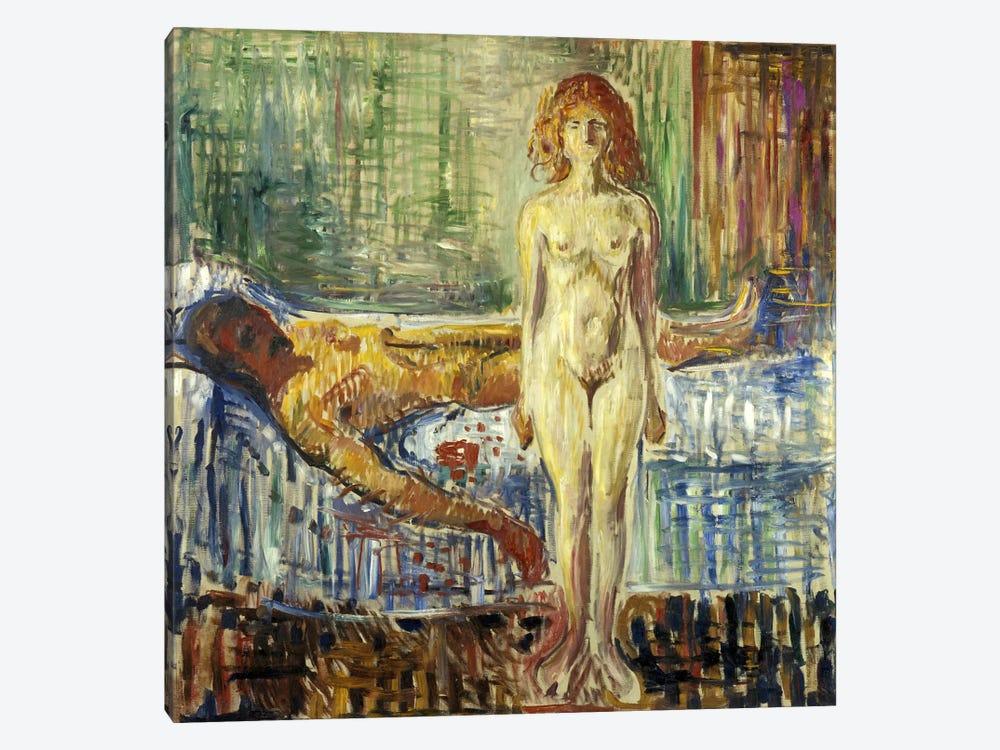 Death of Marat II, 1907 by Edvard Munch 1-piece Canvas Print