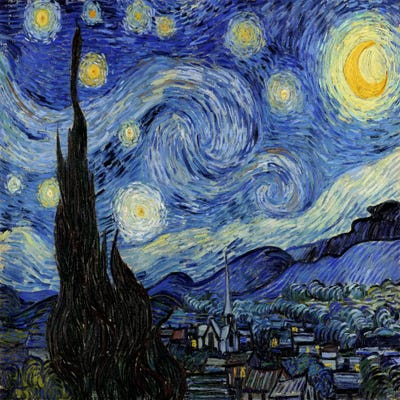 ad0e037906b The Starry Night Canvas Art by Vincent van Gogh