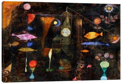Fish Magic, 1925 Canvas Art Print