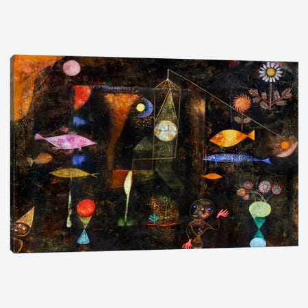 Fish Magic, 1925 Canvas Print #15239} by Paul Klee Canvas Art Print