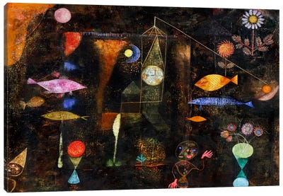 Fish Magic, 1925 by Paul Klee Canvas Art Print