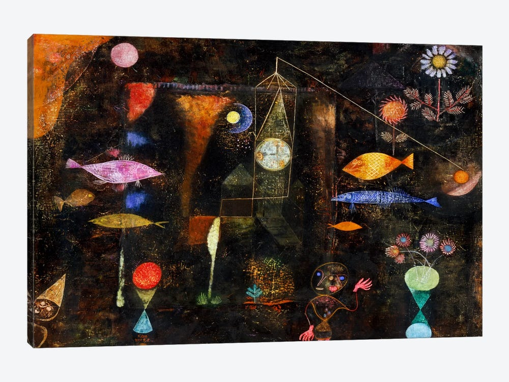 Fish Magic, 1925 1-piece Canvas Print