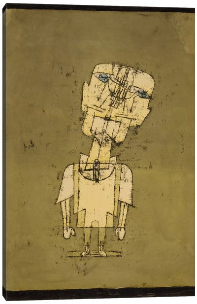 Ghost of a Genius, 1922 by Paul Klee Canvas Art