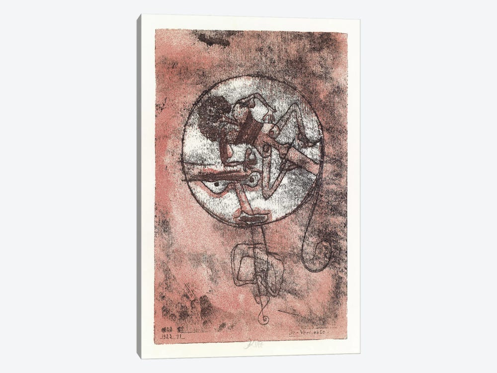 The Lovers, 1923 by Paul Klee 1-piece Art Print