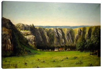 The Rock of Ten Hours, 1855 Canvas Art Print