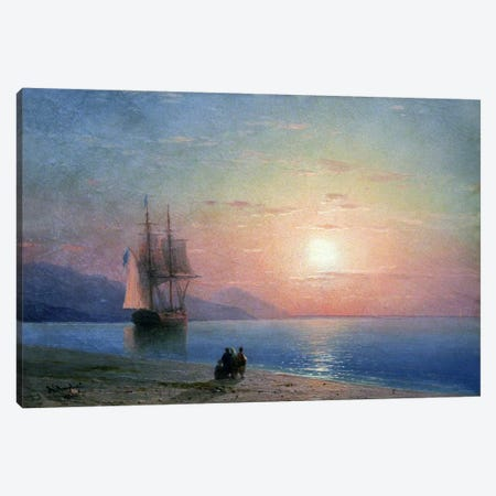 Meer Anagoria, 1864 Canvas Print #15266} by Ivan Aivazovsky Art Print