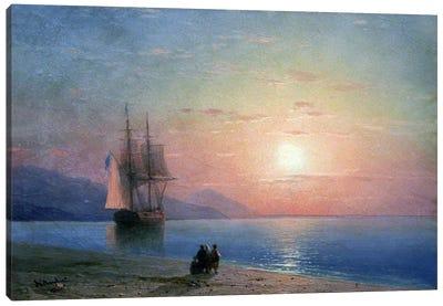 Meer Anagoria, 1864 Canvas Art Print