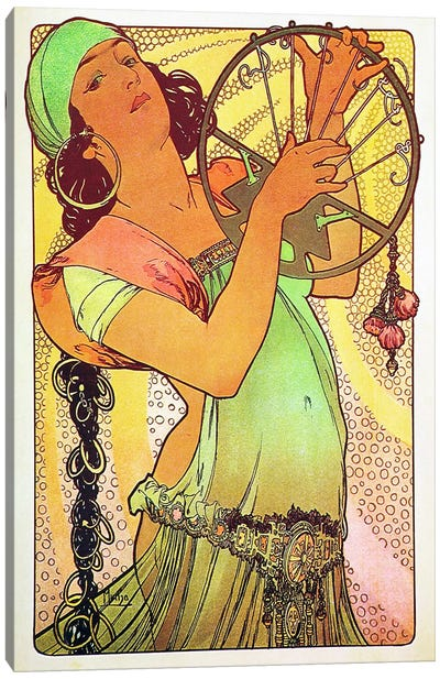 The Modern Stamped Salome Canvas Art Print