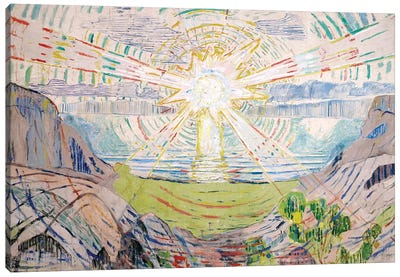 The Sun, 1916 #2 by Edvard Munch Art Print