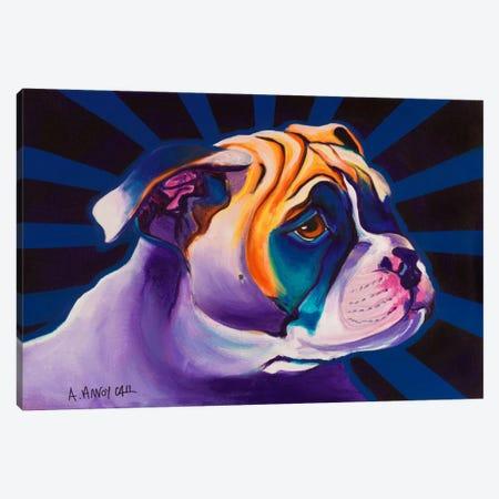 Bob Canvas Print #15285} by DawgArt Canvas Art Print