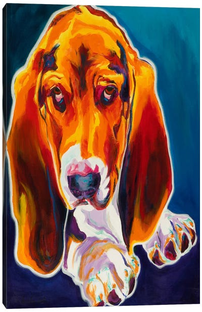 Ears Canvas Art Print