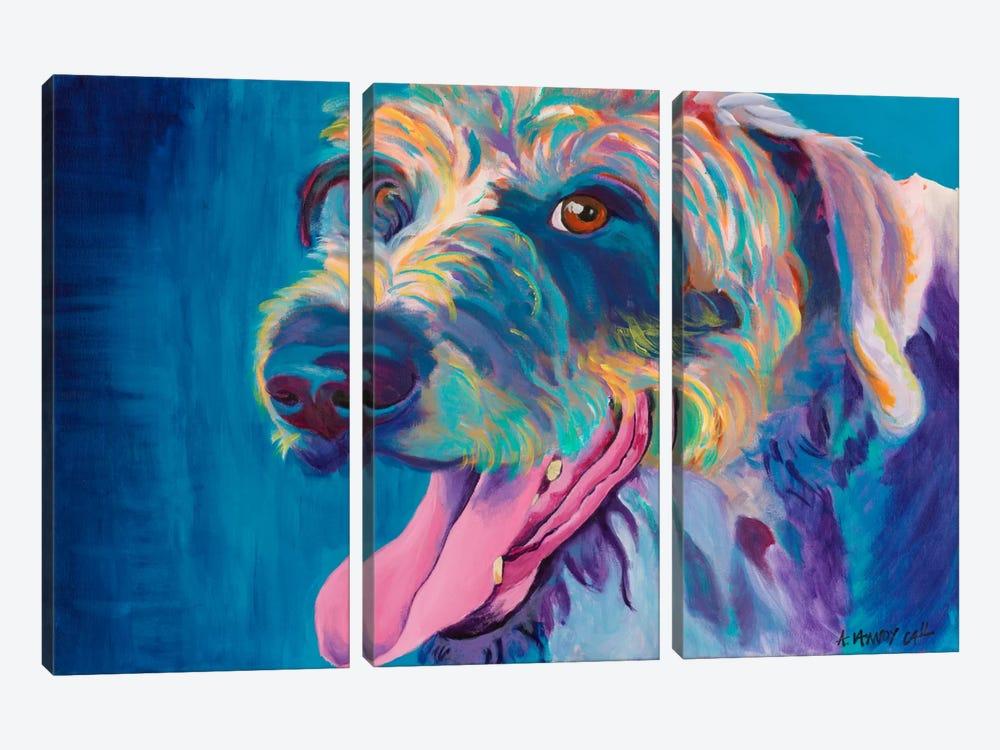 Lizzy by DawgArt 3-piece Canvas Wall Art